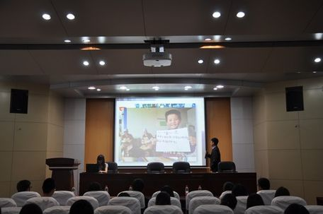 经管学院举办青年志愿者宣讲会