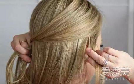 [夏季发型中长发扎法]夏季发型长发扎法