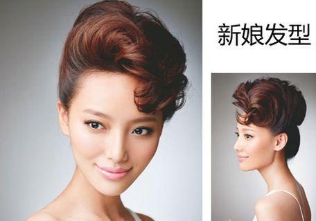 16中式新娘发型