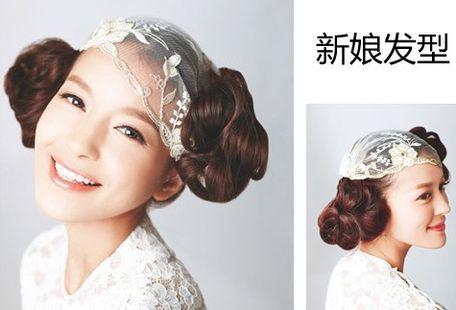 [2016新娘发型]2016中式新娘发型