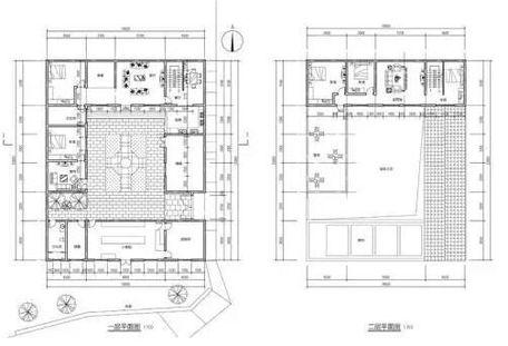 农村宅基地设计图卧室图片